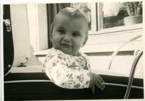 Das bin ich, noch jung und voller Tatendrang ;-)